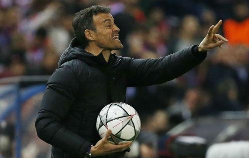 """Barca thảm bại, Enrique """"phục sát đất"""" Atletico - 1"""