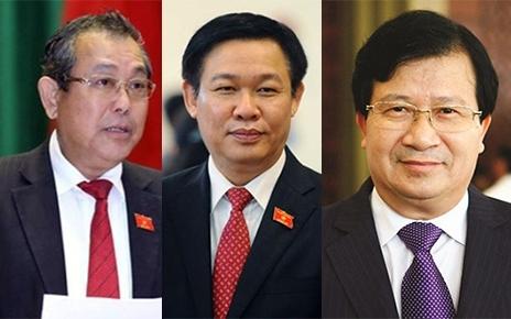 Thủ tướng phân công công tác cho 3 Phó Thủ tướng mới - 2