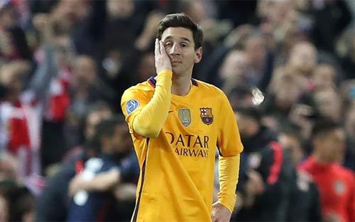Tiết lộ: Messi chấn thương, vẫn đá trước Atletico - 1