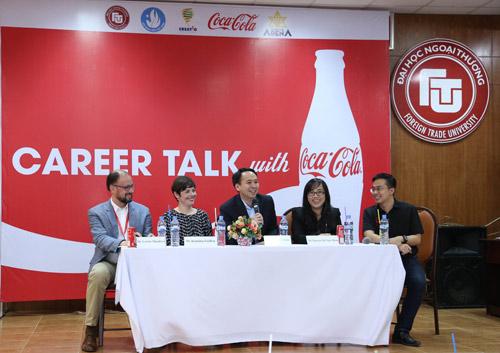 Hiểu đúng về nghề tại hội thảo hướng nghiệp của Coca-Cola - 1