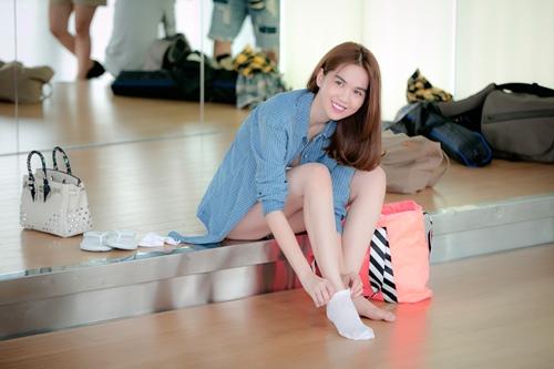 """Ngọc Trinh gợi cảm tập nhảy cho """"Bước nhảy hoàn vũ"""" - 5"""