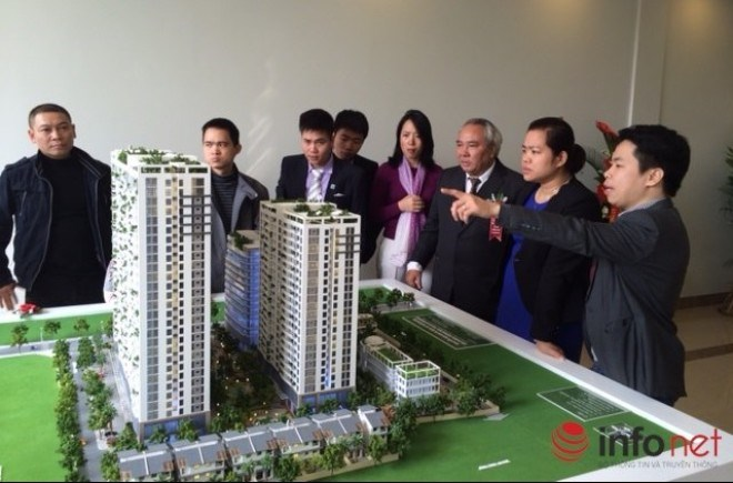 Hà Nội: Nhà đất tăng giá, mua bán lập tức đóng băng - 1