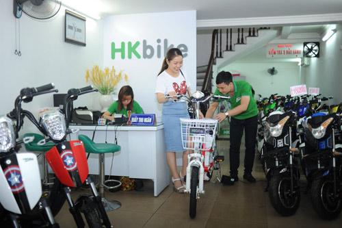 Siêu thị xe đạp điện Yến Oanh – Đại lý chính hãng tại Hà Nội của Hkbike - 3