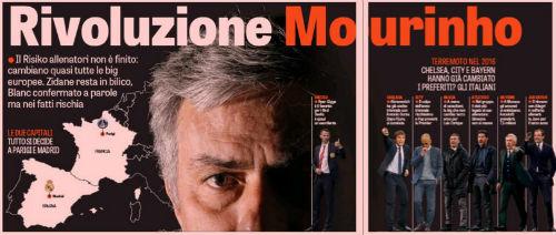 Mourinho không về MU, Giggs sẽ thay Van Gaal - 1