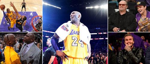 Bóng rổ: Kobe Bryant xô đổ kỷ lục ngày giải nghệ - 2