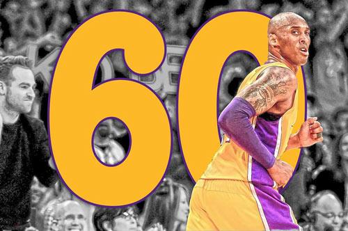 Bóng rổ: Kobe Bryant xô đổ kỷ lục ngày giải nghệ - 3