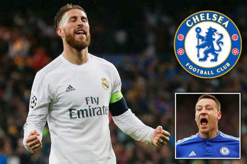 Chelsea tính mua Ramos với giá kỷ lục thay Terry - 1