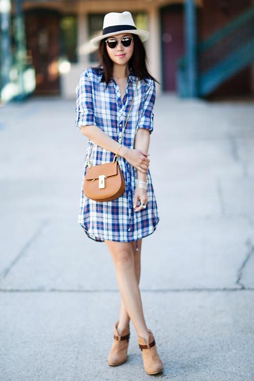 Váy sơ mi: Đẹp từ công sở đến đường phố - 1