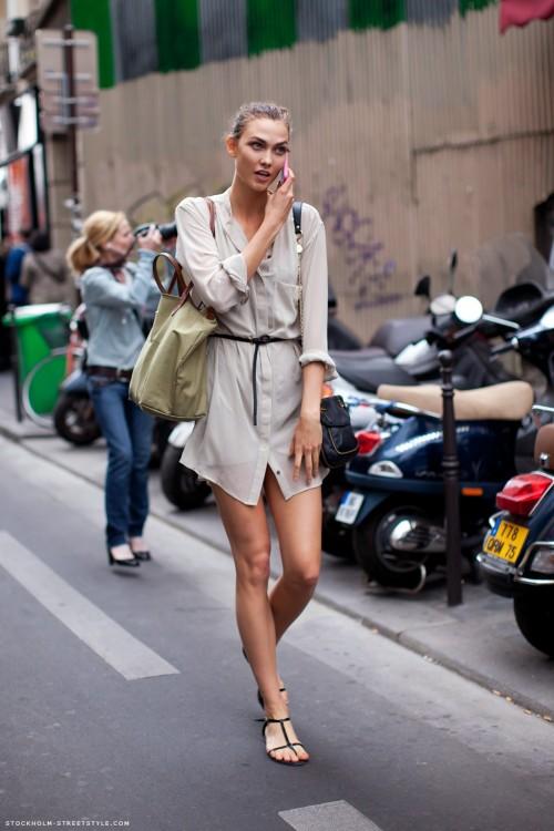 Váy sơ mi: Đẹp từ công sở đến đường phố - 5