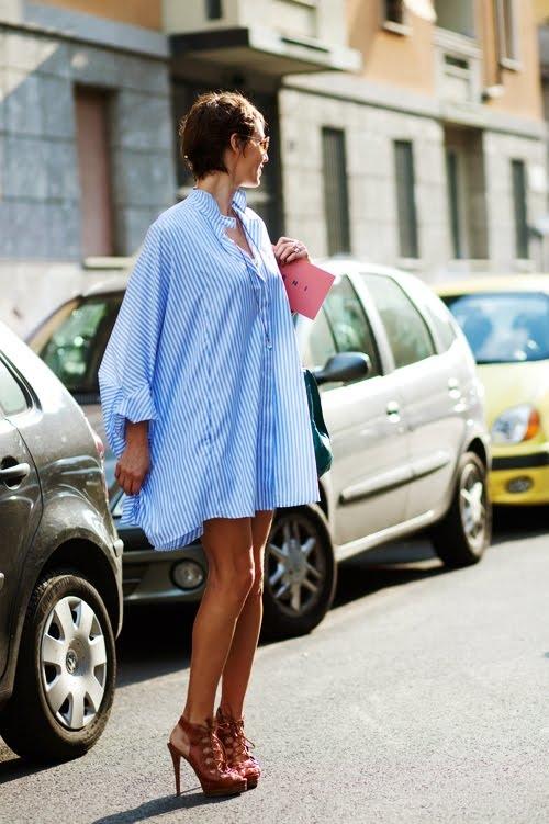 Váy sơ mi: Đẹp từ công sở đến đường phố - 3