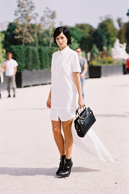 Váy sơ mi: Đẹp từ công sở đến đường phố - 6