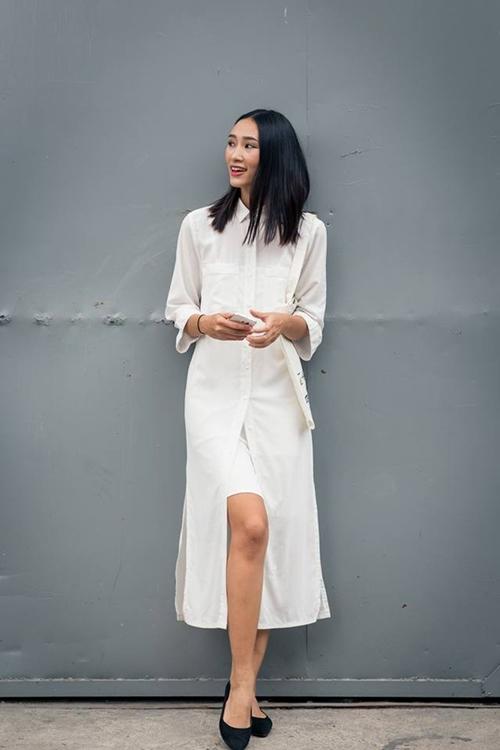 Váy sơ mi: Đẹp từ công sở đến đường phố - 10