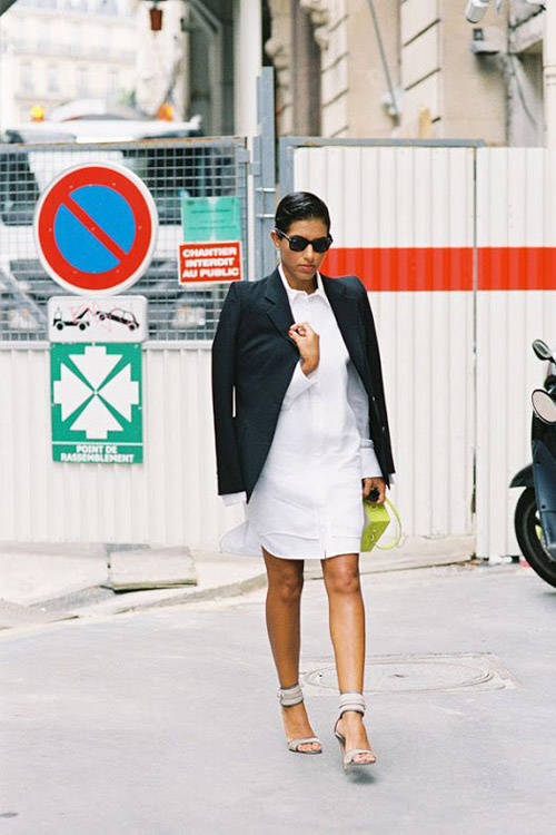 Váy sơ mi: Đẹp từ công sở đến đường phố - 7