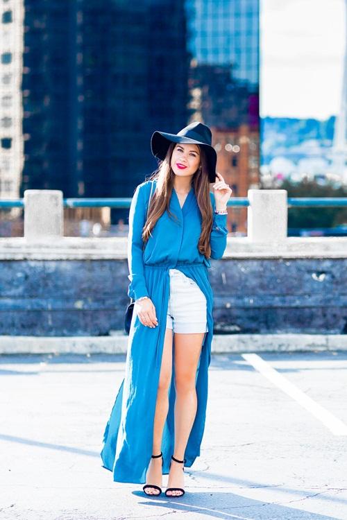 Váy sơ mi: Đẹp từ công sở đến đường phố - 14