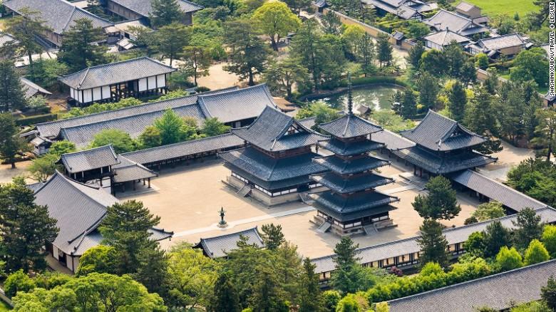 Chiêm ngưỡng những tuyệt tác đền, chùa ở Nhật Bản - 11