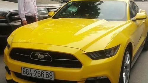 Hàng độc Mustang 50 Year nhập tịch Vĩnh Phúc - 1