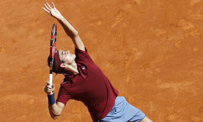Truc tiep Federer vs Bautista - Vòng 3 Monte Carlo - 3