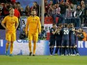 """Bóng đá - Chùm ảnh: Barca """"sa lầy"""" ở Vicente Calderón"""