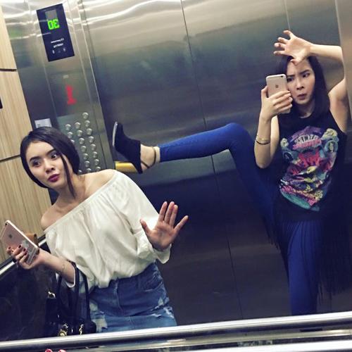"""Đồng loạt mỹ nhân Việt chụp hình """"làm xấu"""" bản thân - 3"""
