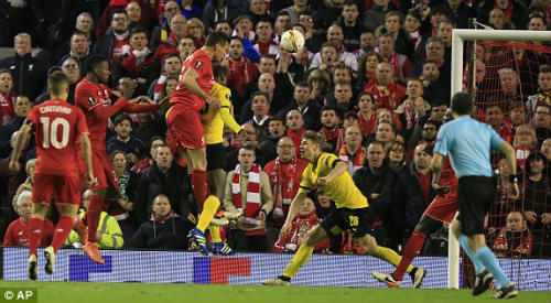 Video Liverpool vs Dortmund - 1