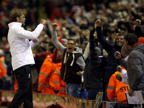 """Ngược dòng không tưởng, Klopp ví Liverpool là """"Quỷ dữ"""" - 1"""