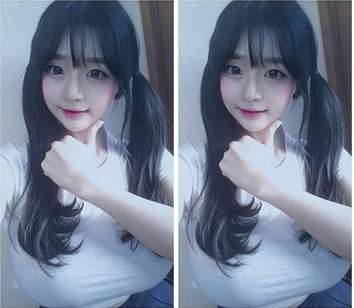 """Cô giáo Hàn Quốc nổi tiếng vì có vòng một """"ngộp thở"""" - 10"""