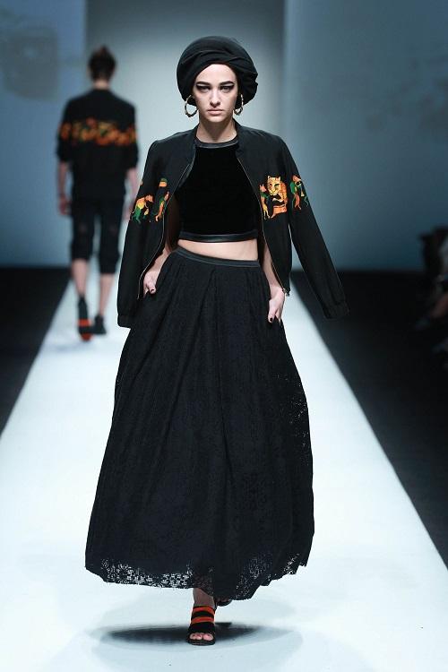 Xuân Lan làm vedette ở Tuần lễ thời trang Thượng Hải - 11