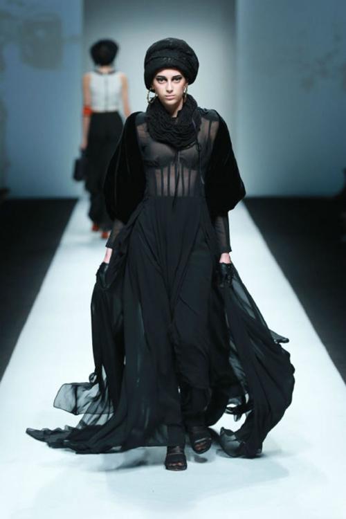 Xuân Lan làm vedette ở Tuần lễ thời trang Thượng Hải - 9