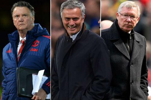 "Báo Anh: MU 100% ""trảm"" Van Gaal, mời Mourinho - 2"