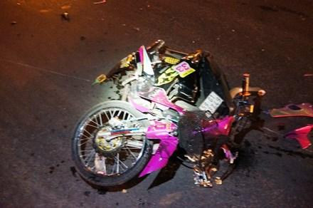 Cô gái thoát chết sau cú đâm kinh hoàng ở giao lộ - 1