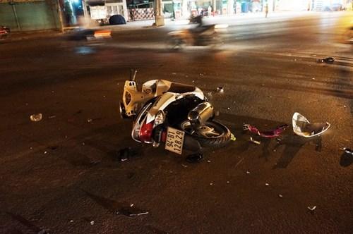 Cô gái thoát chết sau cú đâm kinh hoàng ở giao lộ - 2