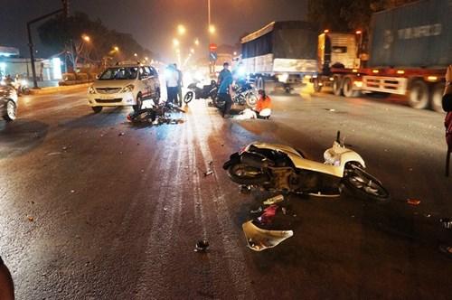 Cô gái thoát chết sau cú đâm kinh hoàng ở giao lộ - 3