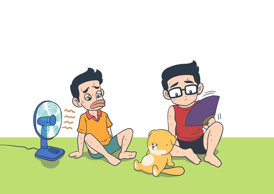 """Cộng đồng mạng đón hè bằng tranh vui """"giải nóng"""" - 6"""