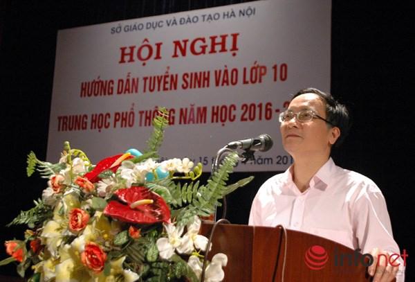 Học sinh HN kiểm tra khảo sát Văn, Toán trước khi tham gia kỳ thi THPT - 1