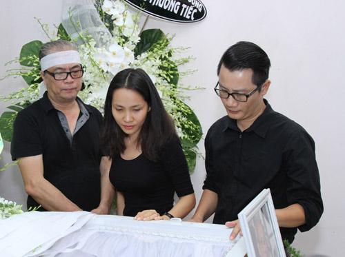 Bằng Kiều bồi hồi viếng nhạc sĩ Nguyễn Ánh 9 - 7