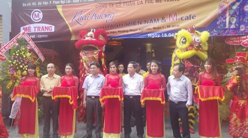 Mê Trang rộn ràng khai trương chi nhánh miền Nam & quán M-café Bùi Viện - 1
