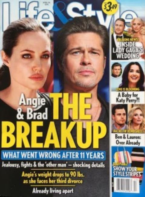 Báo nước ngoài đưa tin Angelina Jolie và Brad Pitt ly hôn - 1