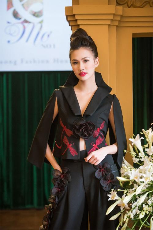 Những thiết kế xuyên thấu quyến rũ của nghệ nhân áo dài - 5