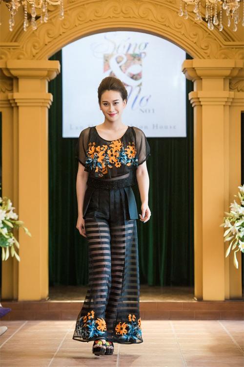 Những thiết kế xuyên thấu quyến rũ của nghệ nhân áo dài - 6
