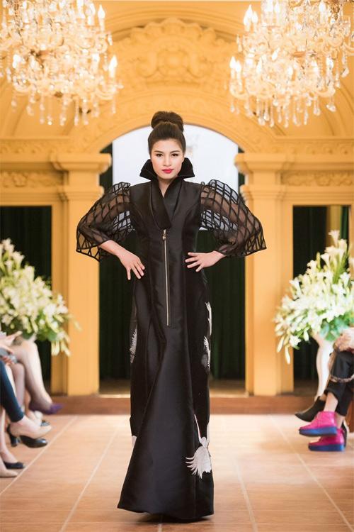 Những thiết kế xuyên thấu quyến rũ của nghệ nhân áo dài - 14