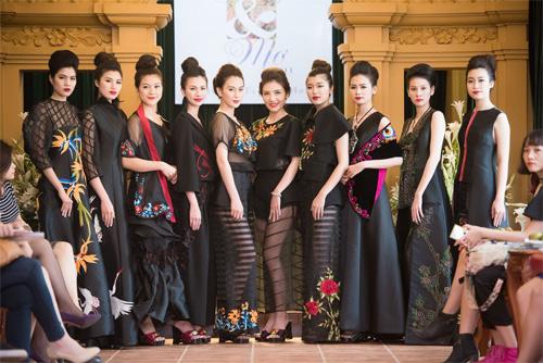 Những thiết kế xuyên thấu quyến rũ của nghệ nhân áo dài - 16