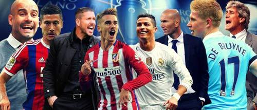 Bán kết cúp C1: Real đụng Man City, Bayern gặp Atletico - 4