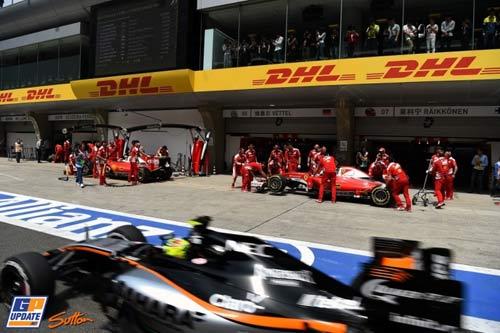 F1, Chinese GP: Ferrari phả hơi nóng lên Mercedes - 1