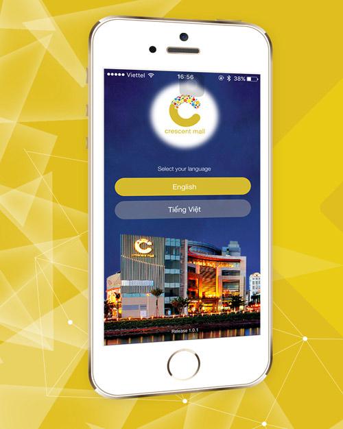TTTM Crescent Mall tiên phong áp dụng công nghệ và ứng dụng di động - 1
