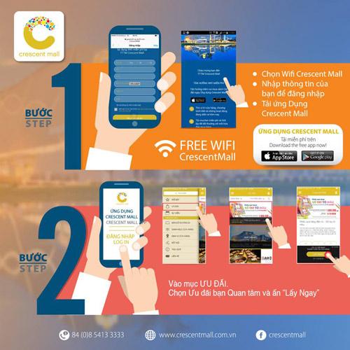 TTTM Crescent Mall tiên phong áp dụng công nghệ và ứng dụng di động - 3