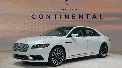 Lincoln Continental 2017 công bố giá, hút nhiều khách hàng - 1