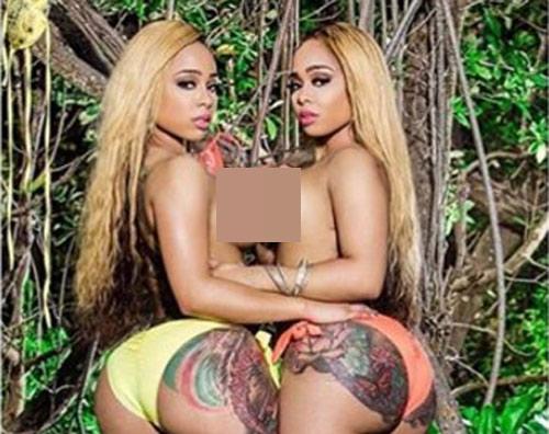 Cặp chị em người mẫu có bộ mông 1,2 mét nhờ squat - 1