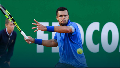 Truc tiep Federer vs Tsonga - Tứ kết Monte Carlo 2016 - 3