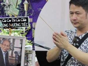 Bằng Kiều bồi hồi viếng nhạc sĩ Nguyễn Ánh 9