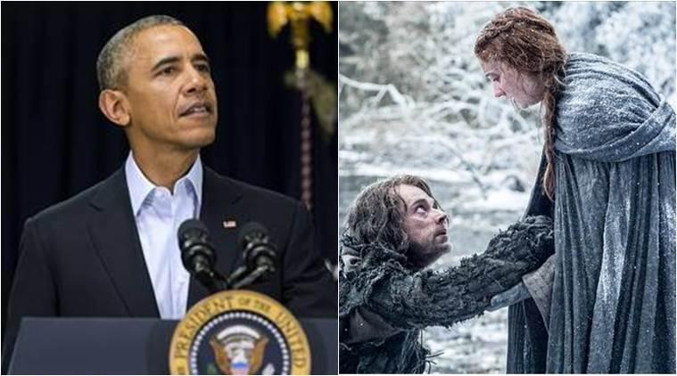 """Tổng thống Obama xem trước """"Trò chơi vương quyền 6"""" - 1"""